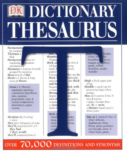 Image for DK Dictionary/Thesaurus