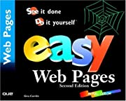 Easy Web Pages (2nd Edition) por Gina…