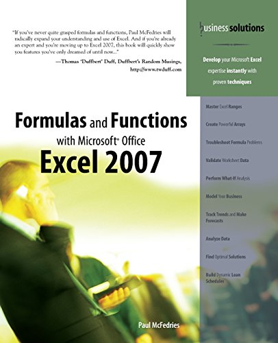 Ms Office Excel 2007 Pdf