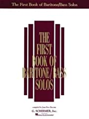 The First Book of Baritone/Bass Solos (Book…