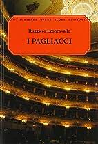 Pagliacci [vocal score] by Ruggero…