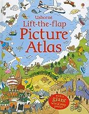 Lift-the-Flap Picture Atlas de Jane Chisholm
