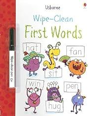 Wipe-Clean First Words (Usborne Wipe-Clean…