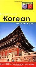 Essential Korean Phrase Book (Periplus…