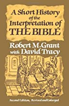 A Short History of the Interpretation of the…