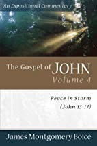 The Gospel of John: Peace in Storm (John…