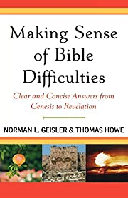 Making Sense of Bible Difficulties: Clear…