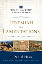 Jeremiah and Lamentations (Teach the Text…