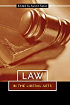 Law in the liberal arts by Austin Sarat