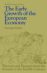 The Early Growth of European Economy:…