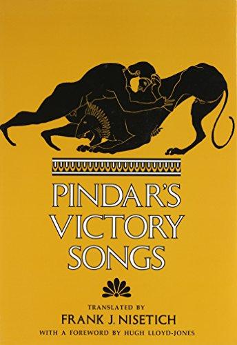 Pindar's Victory Songs, Nisetich, Frank