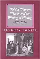 British Women Writers and the Writing of…