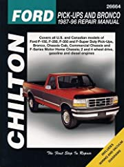 Chilton's Ford trucks, 1987-96