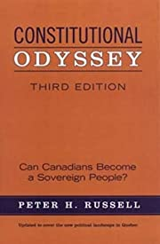 Constitutional Odyssey: Can Canadians Become…