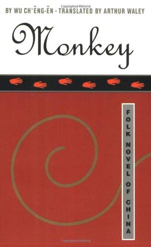Monkey written by Arthur Waley