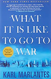 What It Is Like To Go To War por Karl…