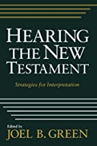 Hearing the New Testament: Strategies for…