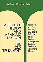 A Concise Hebrew and Aramaic Lexicon of the…