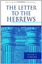 The Letter to the Hebrews (Pillar New…