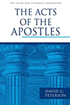 The Acts of the Apostles (Pillar New…