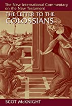 The Letter to the Colossians (New…