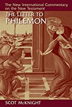 The Letter to Philemon (The New…