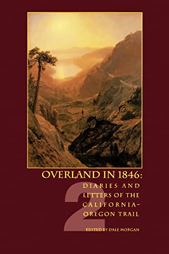Image for Overland in 1846, Volume 2: Diaries and Letters of the California-Oregon Trail