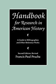 Handbook for Research in American History: A…
