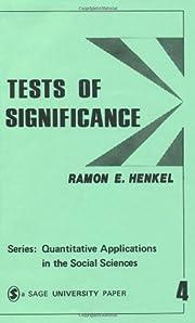 Tests of Significance (Quantitative…