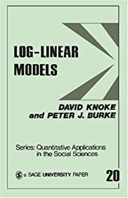 Log-Linear Models (Quantitative Applications…