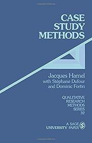 Case study methods – tekijä: Jacques…