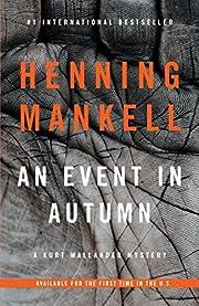 An Event in Autumn (Vintage Crime/Black…