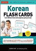 Korean Flash Cards Kit: Learn 1,000 Basic…