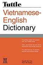 Tuttle Vietnamese-English Dictionary:…