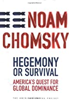 Hegemony or Survival: America's Quest…