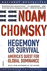 Hegemony or survival : America's quest for…