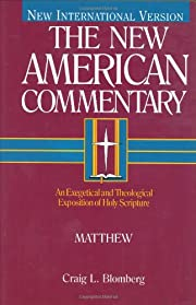 Matthew: An Exegetical and Theological…