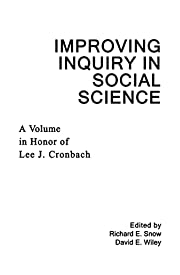 Improving inquiry in social science : a…