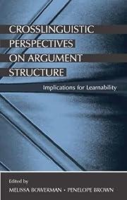 Crosslinguistic perspectives on argument…