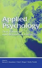 Applied psychology : new frontiers and…