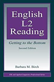 English L2 Reading: Getting to the Bottom…