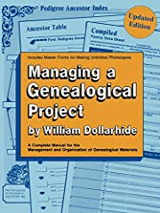 Managing a Genealogical Project Updated…