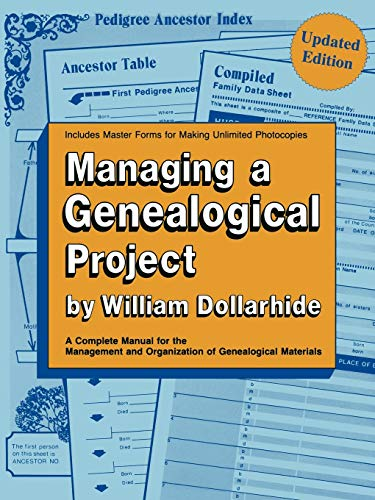 Image for Managing a Genealogical Project Updated Edition