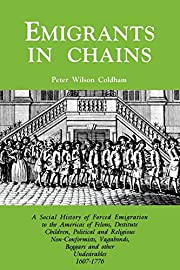 Emigrants in Chains. a Social History of the…