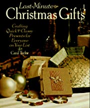 Last-Minute Christmas Gifts: Crafting Quick…