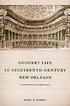 Concert life in nineteenth-century New…