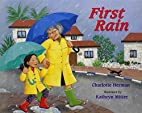 First Rain by Charlotte Herman