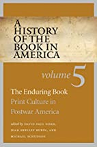 A history of the book in America, Volume 5 :…
