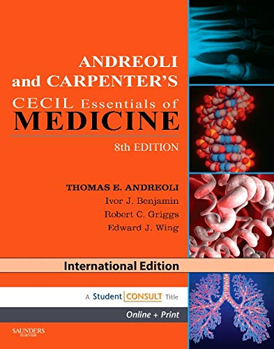 Read online andreoli and carpenter's cecil essentials of medicine.