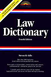 Law Dictionary (Law Dictionary, 4th ed) –…
